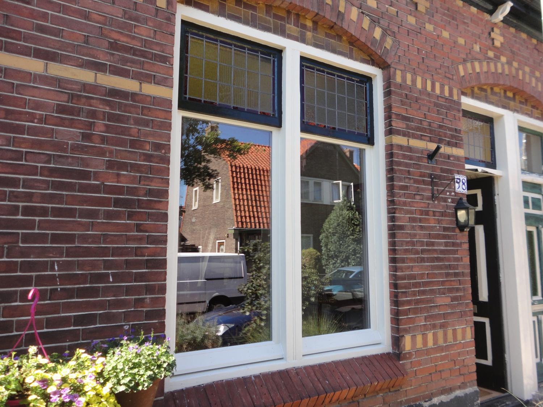 Nieuwe ramen in bestaande kozijnen Irisstraat Hilversum