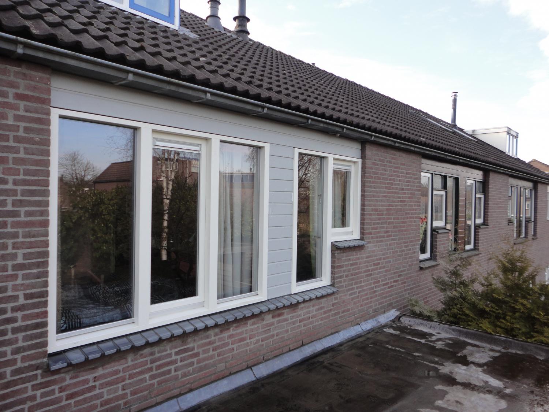 Nieuw kozijn met draaikiep ramen Rozengaard Lelystad