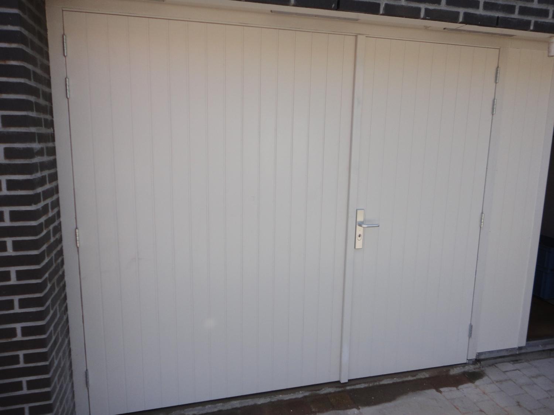 Dubbele deuren Willem Bontekoestraat Almere
