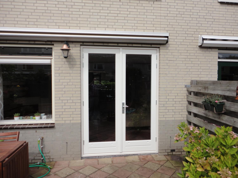 Kozijn met dubbele deuren Helena Kuipers Rietbergstraat Almere