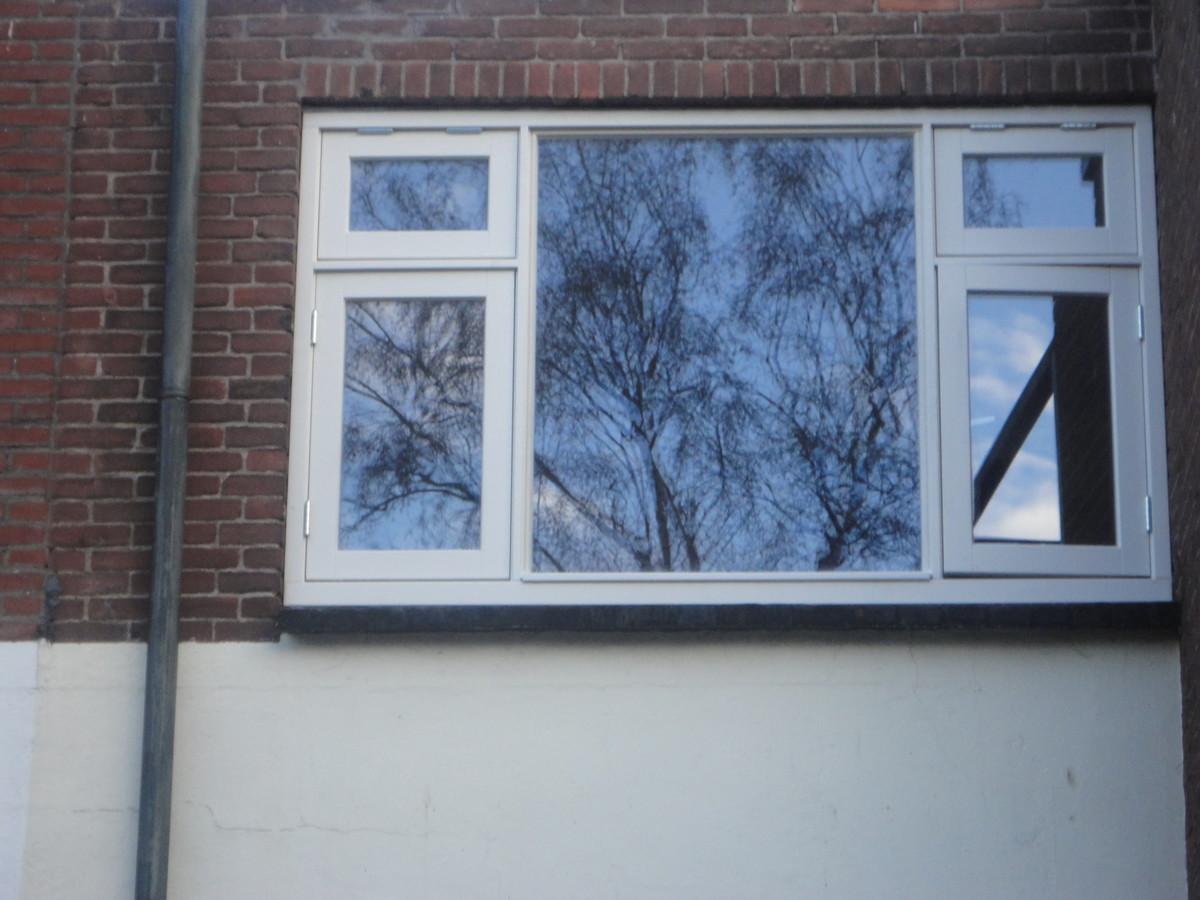 Kozijn met draai- en klepramen Nieuwweg Hilversum
