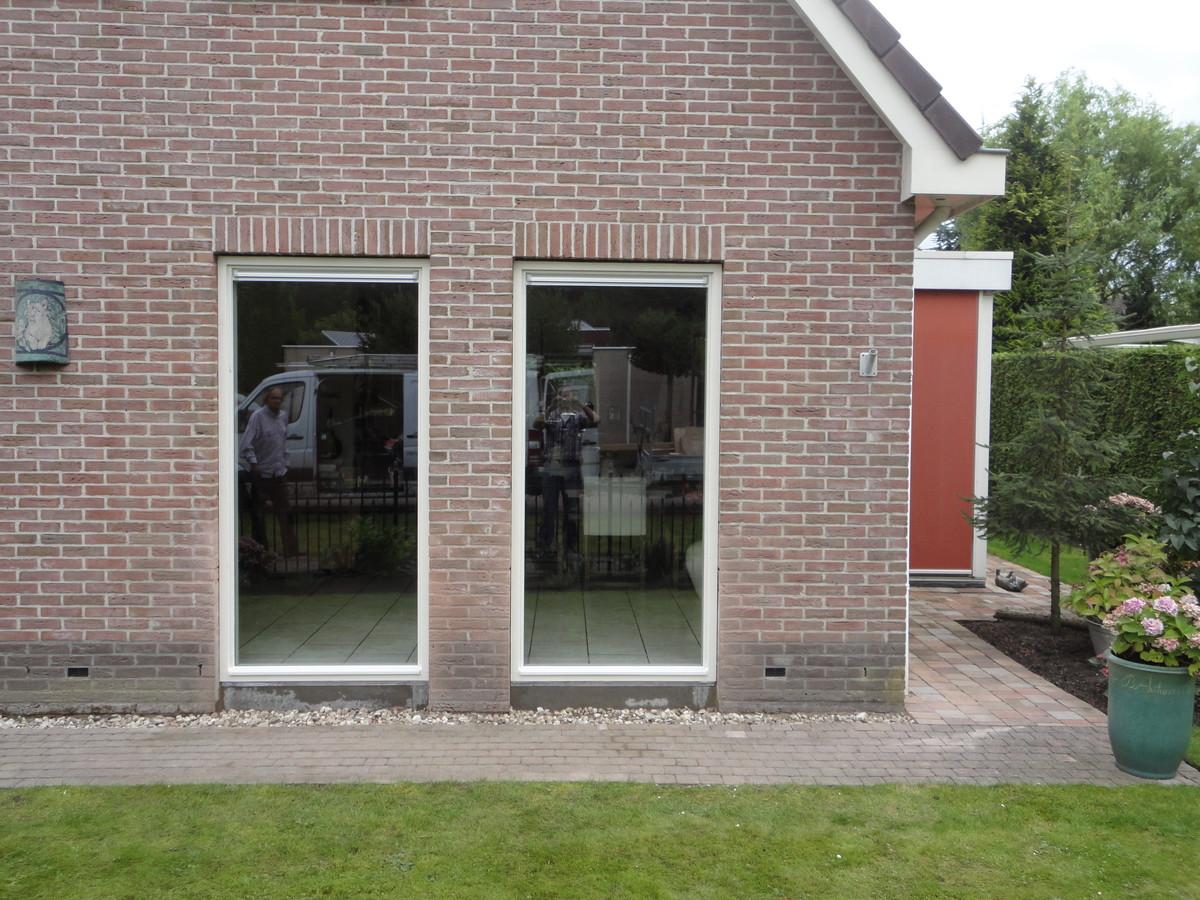 Vast glas kozijnen Samuël Esmeijerstraat Almere