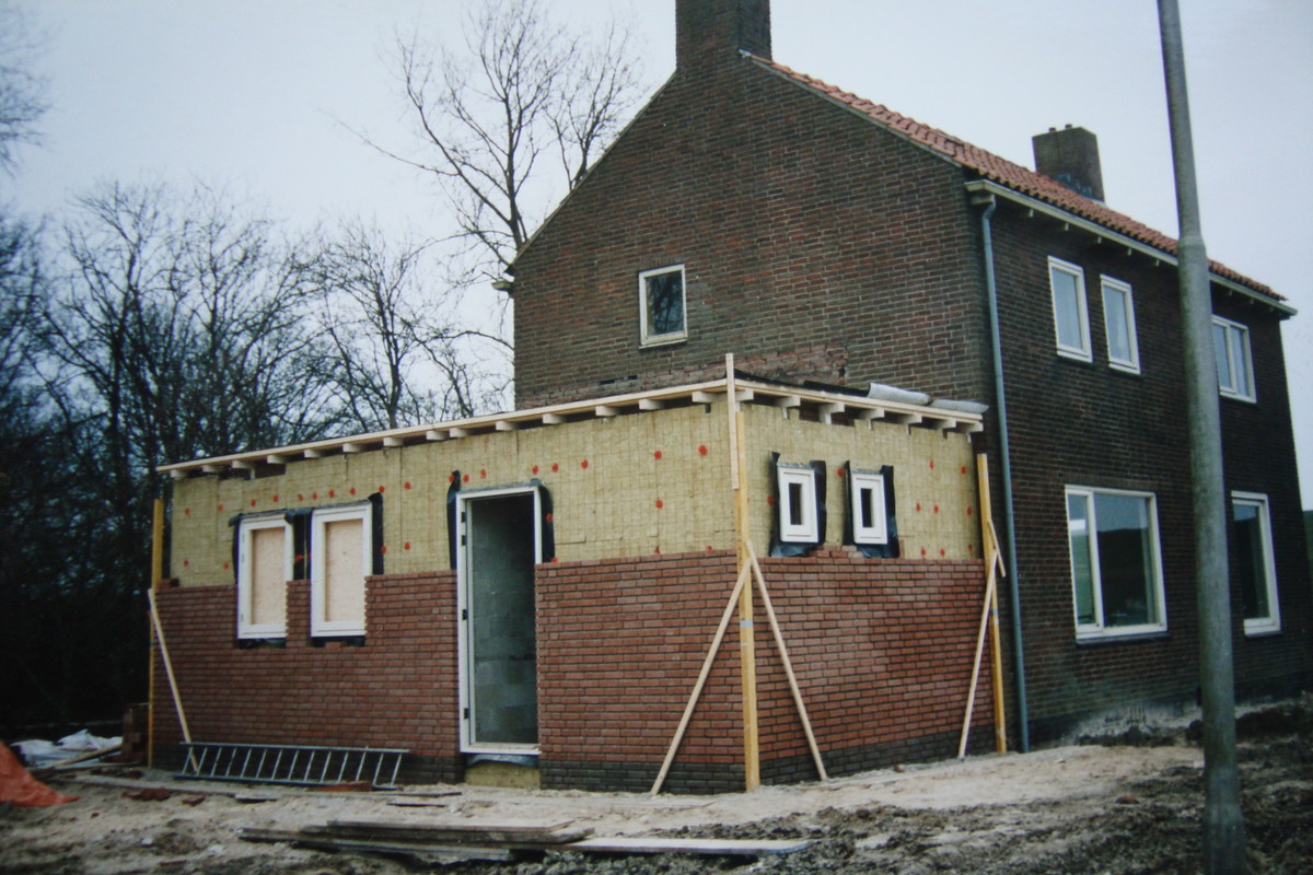 Aanbouw woning Ramsweg Nagele