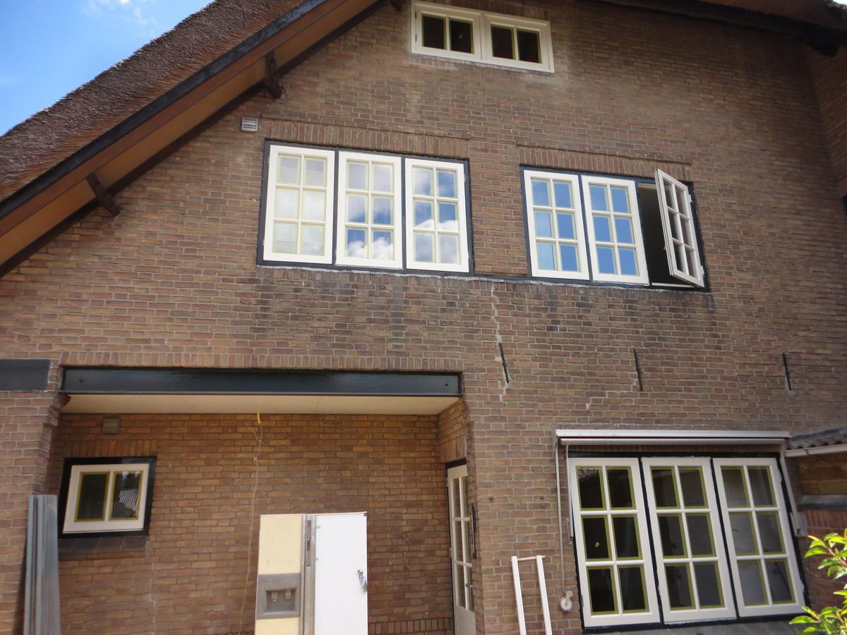 Gehele woning nieuwe ramen in bestaande kozijnen Emmalaan Soest