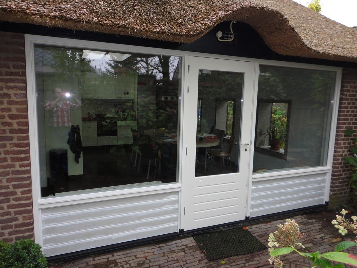 Kozijn met deur Hamseweg Hoogland