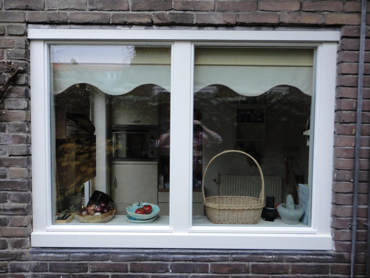 Vast glas kozijn Gerard Doulaan Hilversum