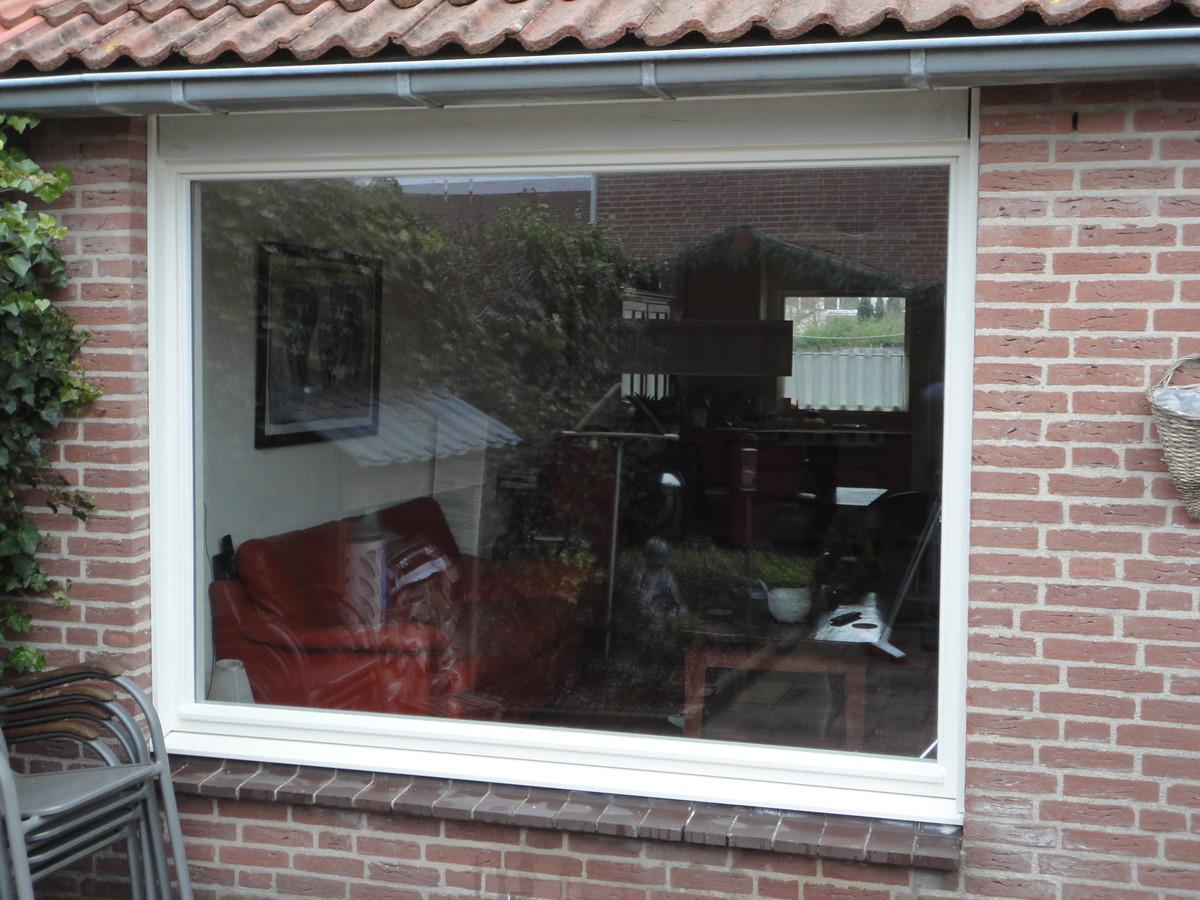 Vast glas kozijn Tongstraat Almere