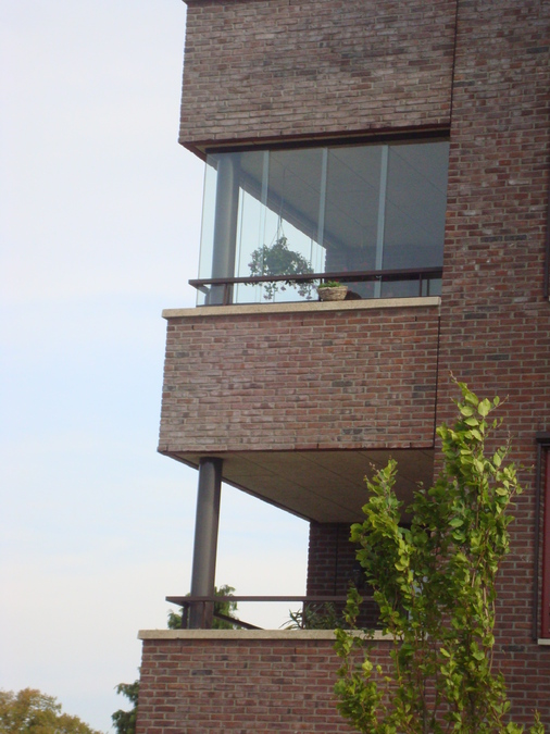Balkonbeglazing  Harderwijkerstraat  Putten