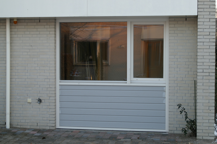Garagedeur vervangen voor kozijn  Rietganslaan  Almere