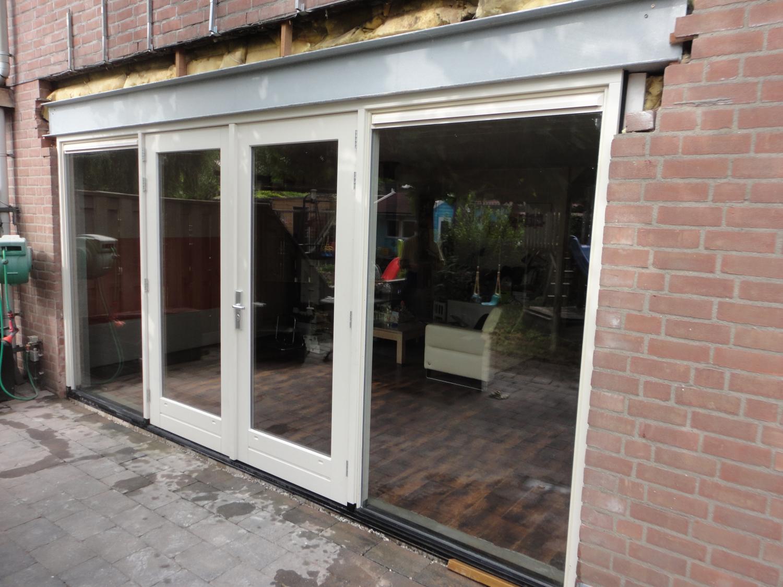 Nieuw kozijn met stalen balk Vennemeerstraat Almere