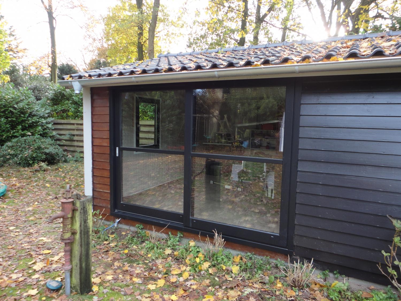 Schuifpui in tuinhuis Melkweg Laren
