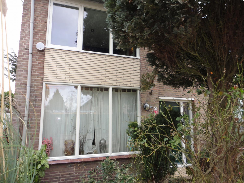 Nieuwe kozijnen in de voorgevel Jacob Obrechtstraat Amersfoort