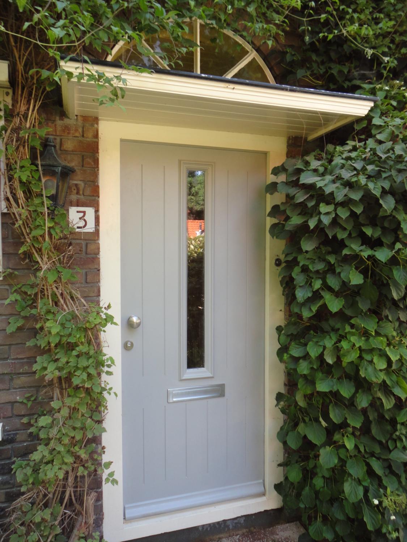 Nieuwe voordeur in bestaand kozijn Grieteweg Putten