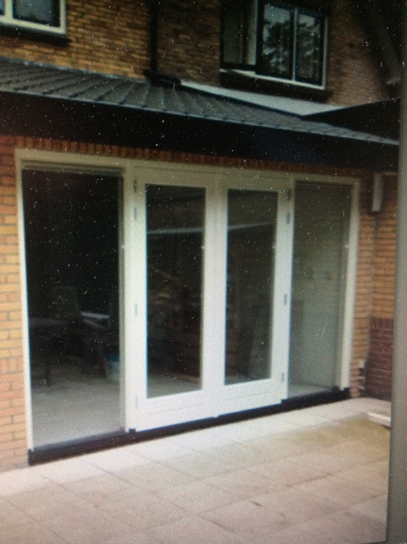 Kozijn met dubbele deuren Vosseveldlaan Soest