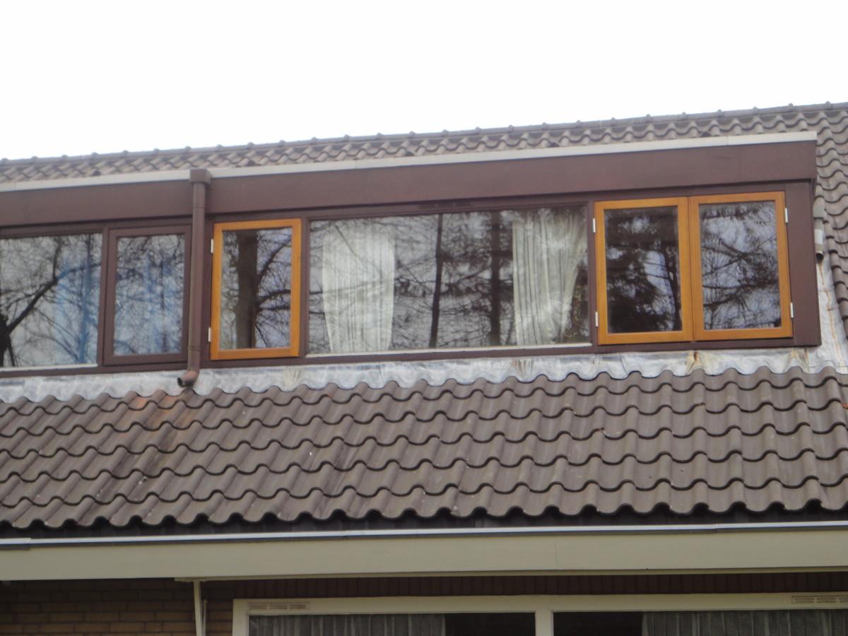 Lakwerk ramen in bestaand dakkapel Buitenplaats Lelystad