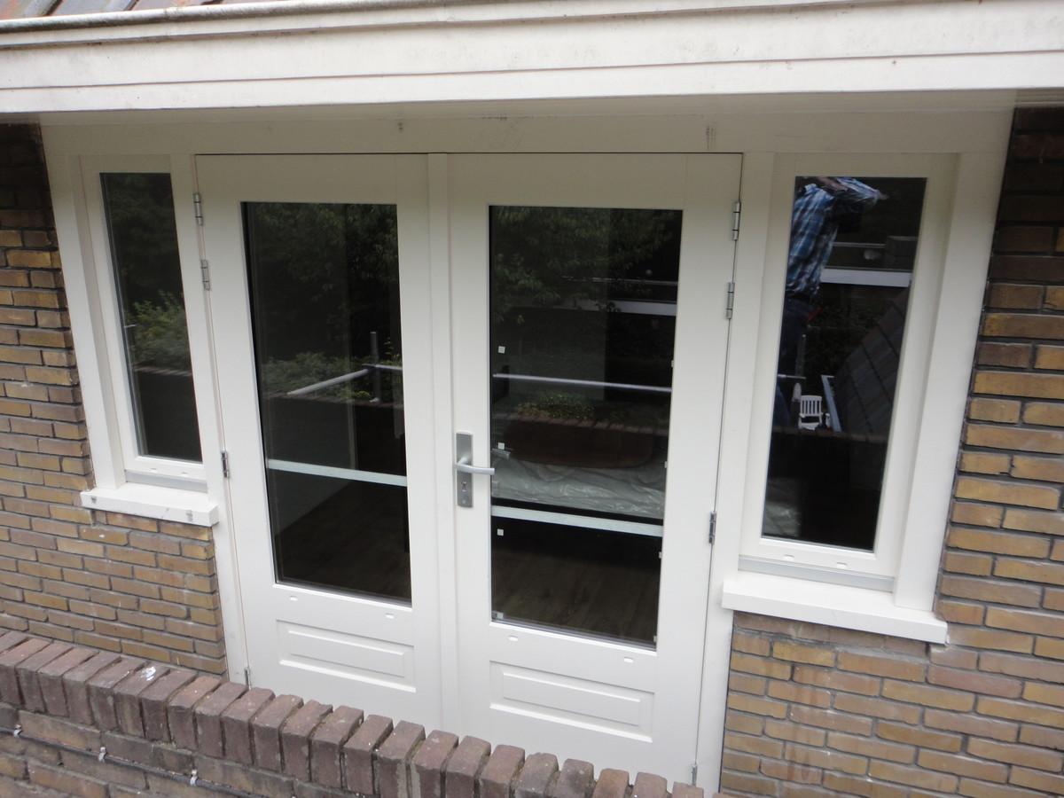 Openslaande deuren met draaikiepramen Hilversum
