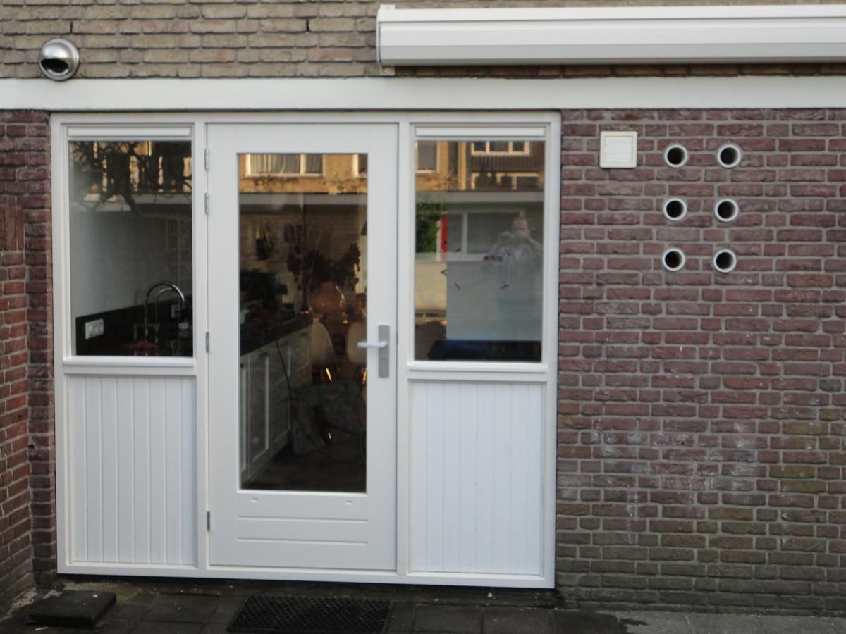 Kozijn met ramen en rabat Mahlerstraat Amersfoort