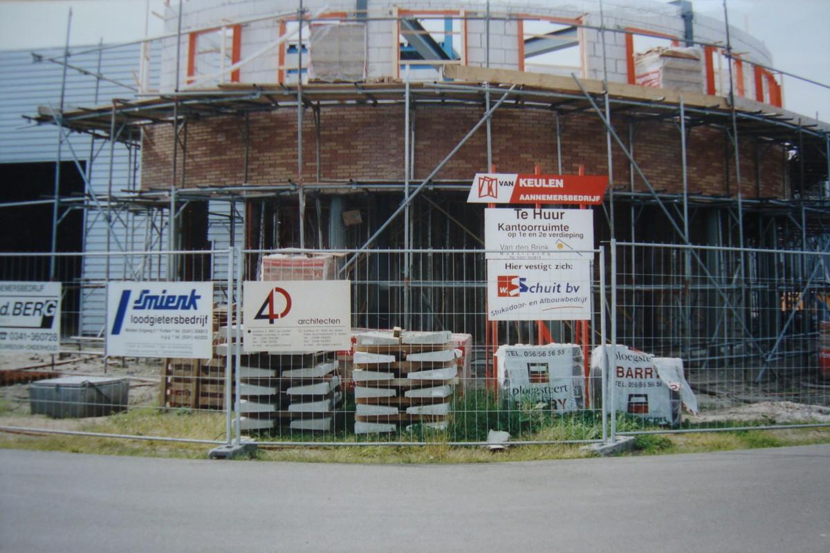Nieuwbouw bedrijfspand Hoge Eng West Putten