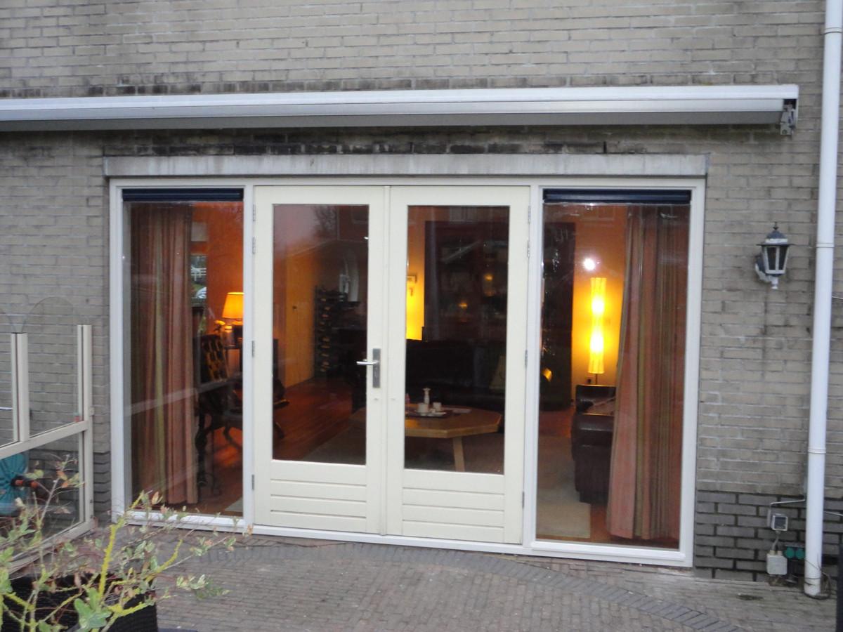 Kozijn met dubbele deuren Trompetdreef Harderwijk