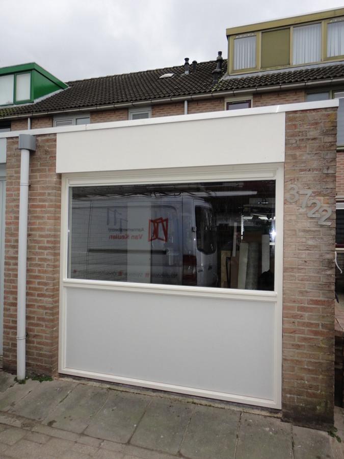 Garagedeur vervangen voor kozijn Horst Lelystad