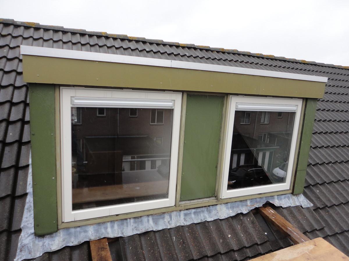Nieuwe ramen in bestaand dakkapelkozijn Horst Lelystad