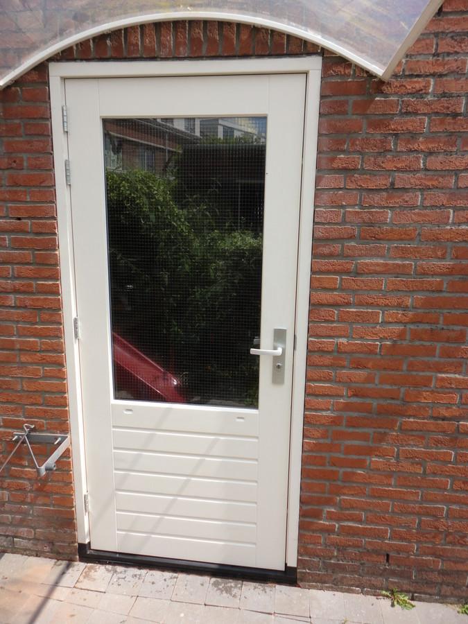 Buitendeur kozijn met DTS onderdorpel en stapeldorpeldeur Anna Boelensgaarde Amersfoort
