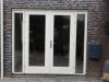Kozijn met dubbele deuren en hardstenen dorpel Haviklaan Almere