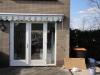 Kozijn met dubbele deuren Wagenweg Huizen