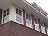 Nieuwe ramen in bestaande kozijnen met roedeverdeling Albertus Perkstraat Hilversum